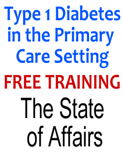 free training type 1 diabetes in primary care